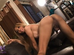 Exotical Fern spreading her ass wide open