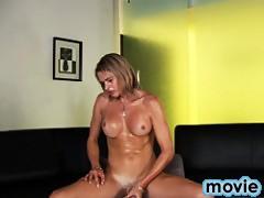 Sweet Julia Reeds Masturbating On The Sofa